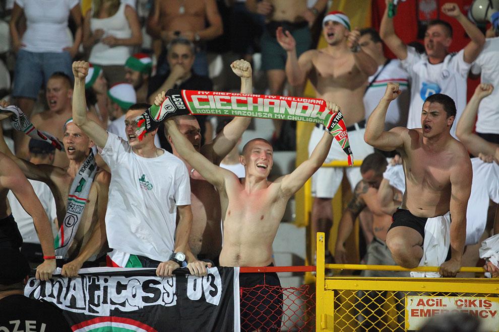 Gaziantepspor 0-1 Legia Warszawa - fot. Piotr Galas (zdjęcie 54 z 89)