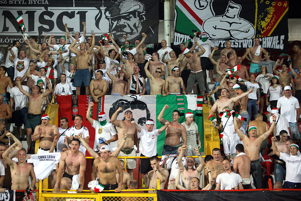Gaziantepspor 0-1 Legia Warszawa - fot. Piotr Galas (zdjęcie 55 z 89)