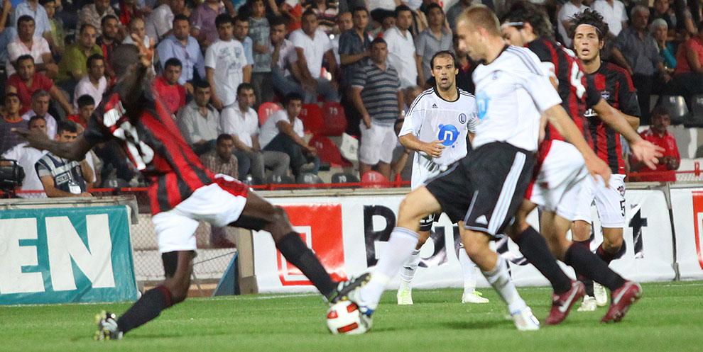 Gaziantepspor 0-1 Legia Warszawa - fot. Piotr Galas (zdjęcie 69 z 89)