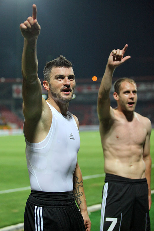 Gaziantepspor 0-1 Legia Warszawa - fot. Piotr Galas (zdjęcie 73 z 89)
