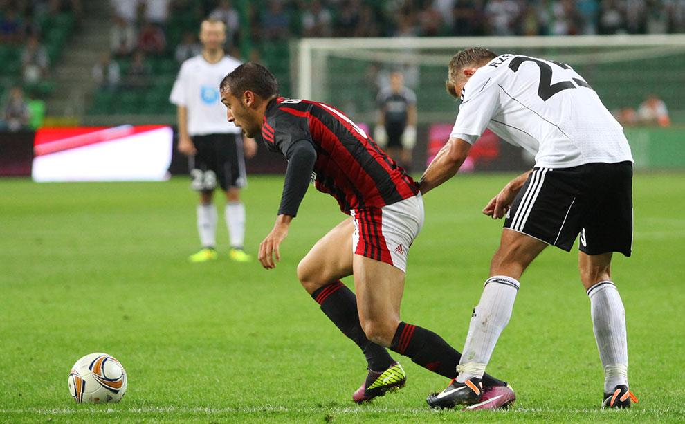 Legia Warszawa 0-0 Gaziantepspor - fot. Piotr Galas (zdjęcie 100 z 133)