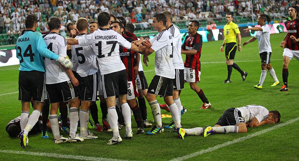 Legia Warszawa 0-0 Gaziantepspor - fot. Piotr Galas (zdjęcie 103 z 133)