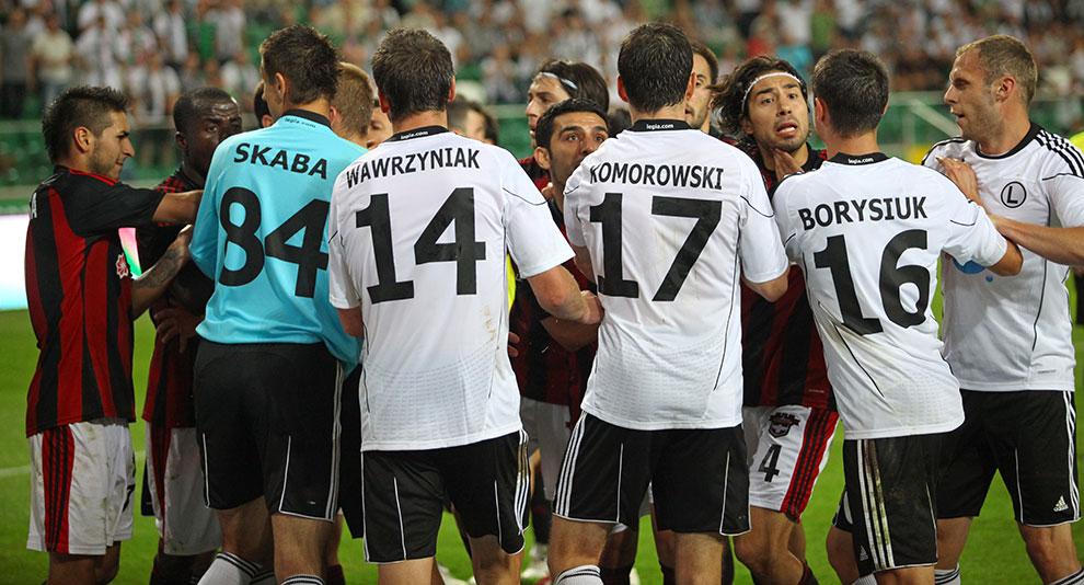 Legia Warszawa 0-0 Gaziantepspor - fot. Piotr Galas (zdjęcie 104 z 133)