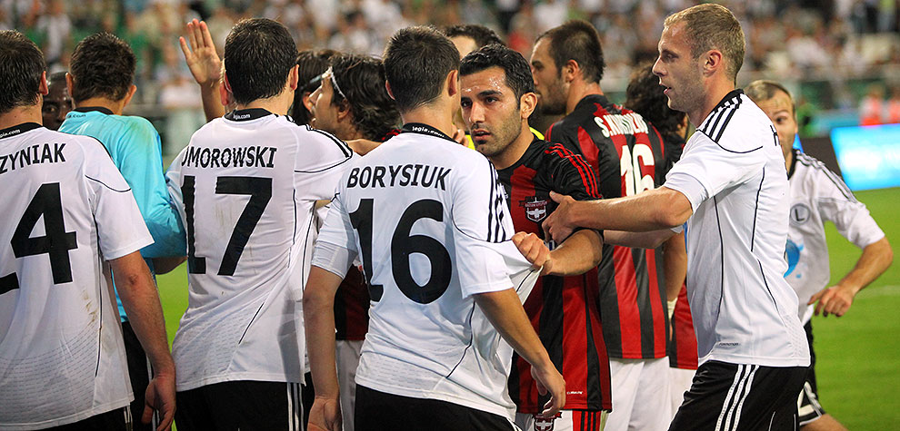 Legia Warszawa 0-0 Gaziantepspor - fot. Piotr Galas (zdjęcie 105 z 133)