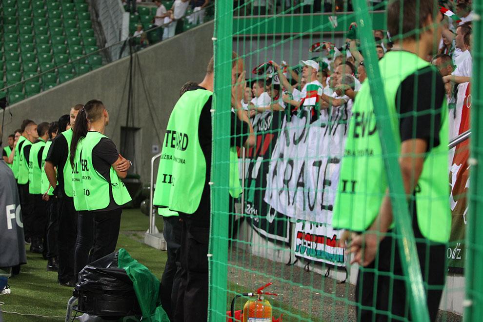 Legia Warszawa 0-0 Gaziantepspor - fot. Piotr Galas (zdjęcie 112 z 133)
