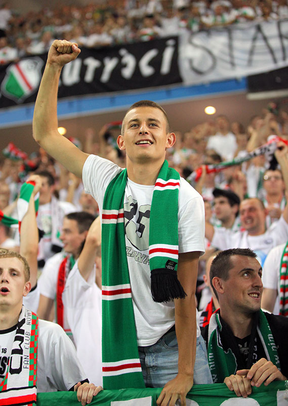 Legia Warszawa 0-0 Gaziantepspor - fot. Piotr Galas (zdjęcie 120 z 133)
