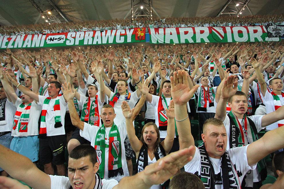 Legia Warszawa 0-0 Gaziantepspor - fot. Piotr Galas (zdjęcie 123 z 133)