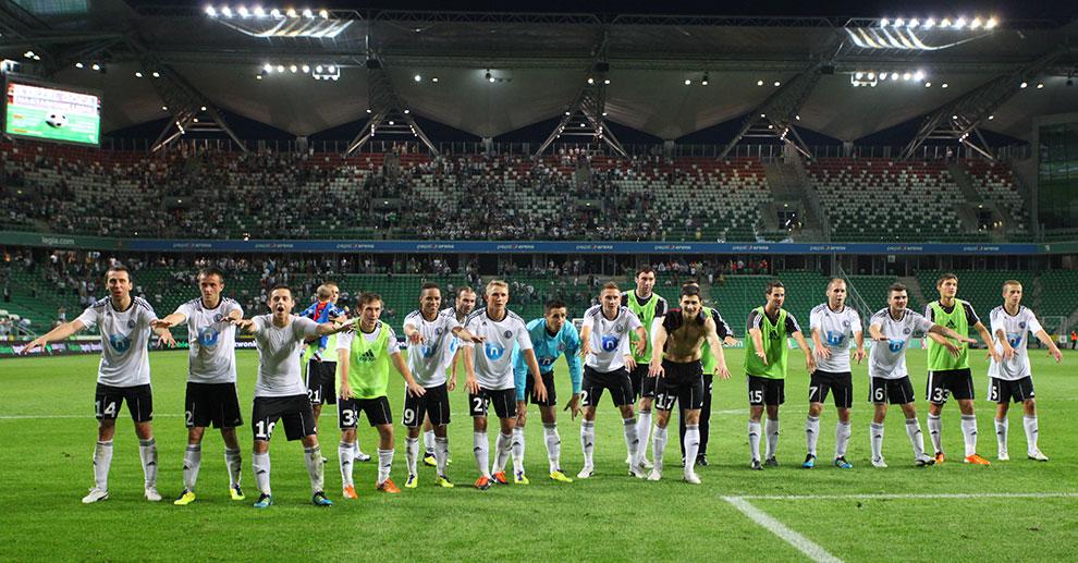Legia Warszawa 0-0 Gaziantepspor - fot. Piotr Galas (zdjęcie 124 z 133)
