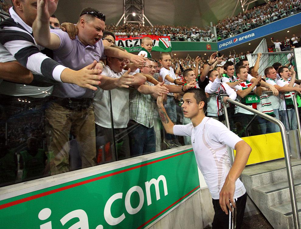 Legia Warszawa 0-0 Gaziantepspor - fot. Piotr Galas (zdjęcie 127 z 133)