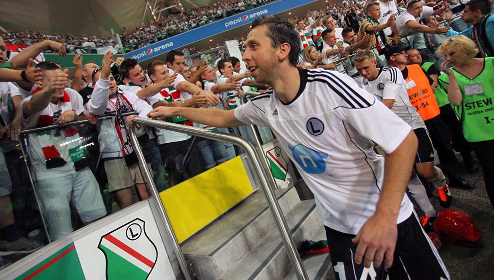 Legia Warszawa 0-0 Gaziantepspor - fot. Piotr Galas (zdjęcie 128 z 133)