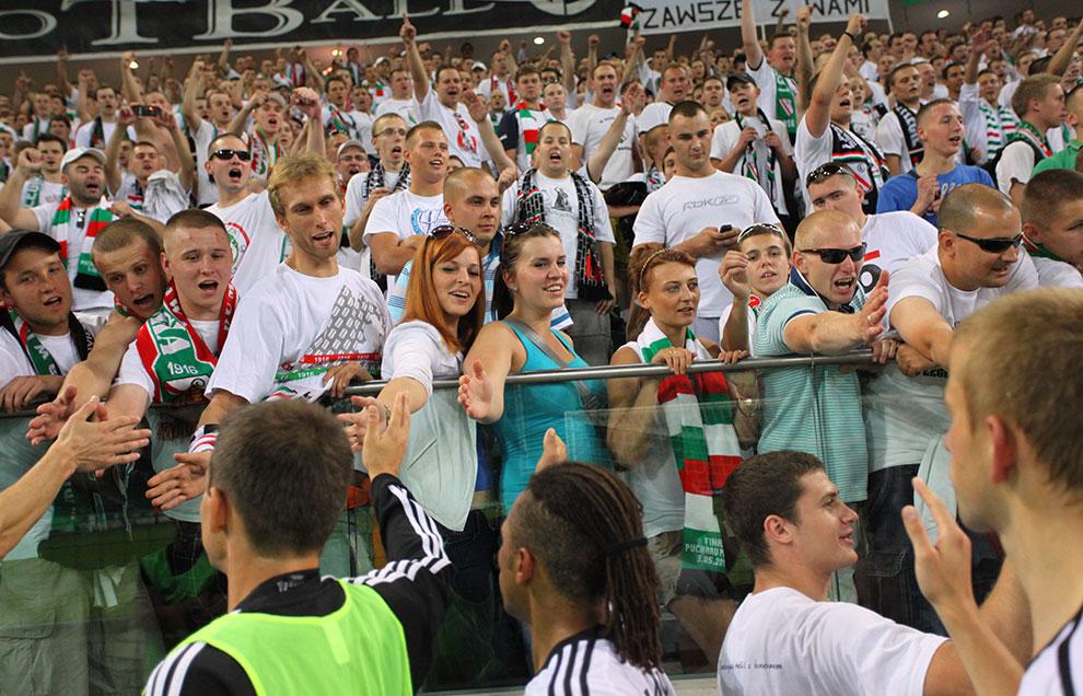 Legia Warszawa 0-0 Gaziantepspor - fot. Piotr Galas (zdjęcie 130 z 133)