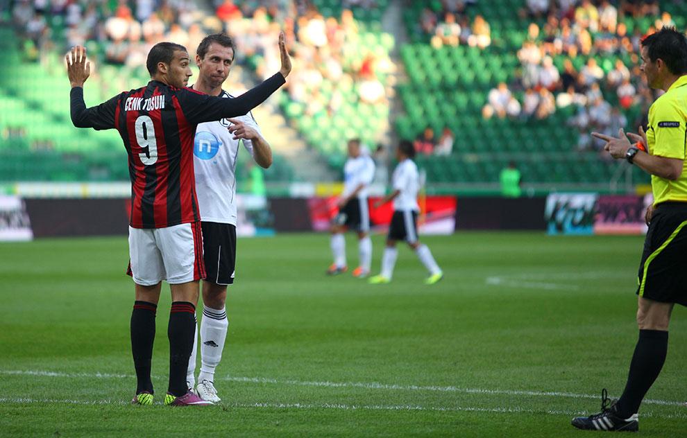 Legia Warszawa 0-0 Gaziantepspor - fot. Piotr Galas (zdjęcie 34 z 133)