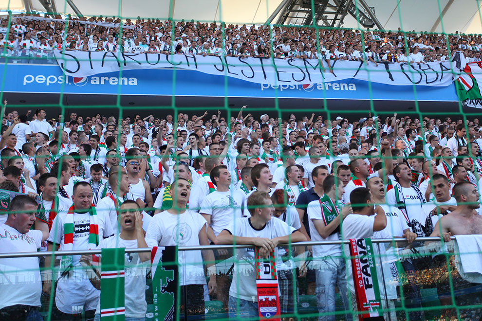 Legia Warszawa 0-0 Gaziantepspor - fot. Piotr Galas (zdjęcie 36 z 133)