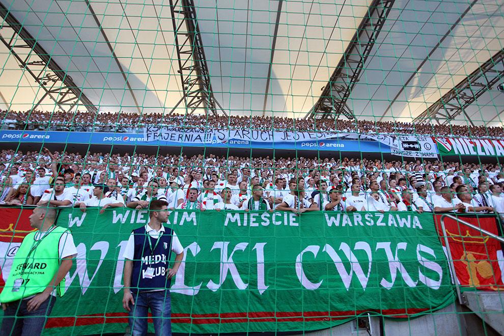 Legia Warszawa 0-0 Gaziantepspor - fot. Piotr Galas (zdjęcie 42 z 133)