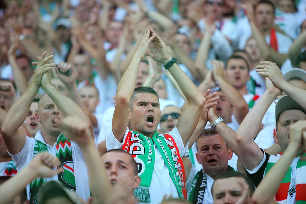 Legia Warszawa 0-0 Gaziantepspor - fot. Piotr Galas (zdjęcie 45 z 133)