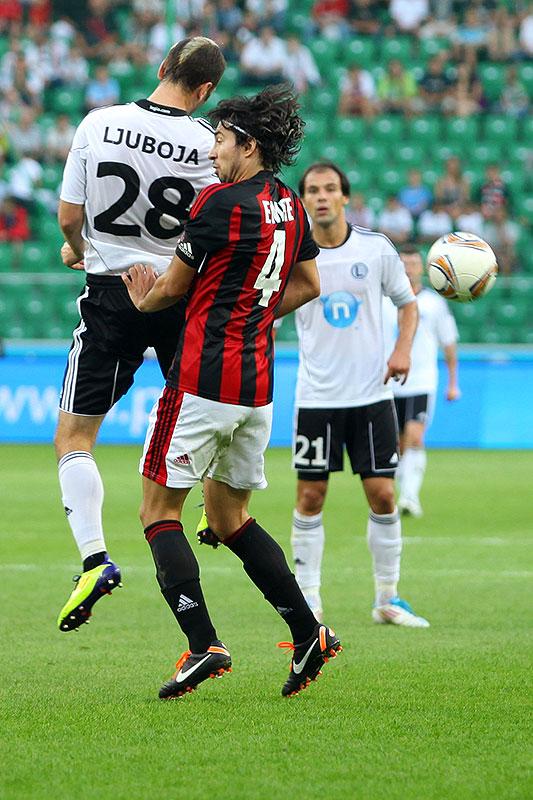 Legia Warszawa 0-0 Gaziantepspor - fot. Piotr Galas (zdjęcie 67 z 133)