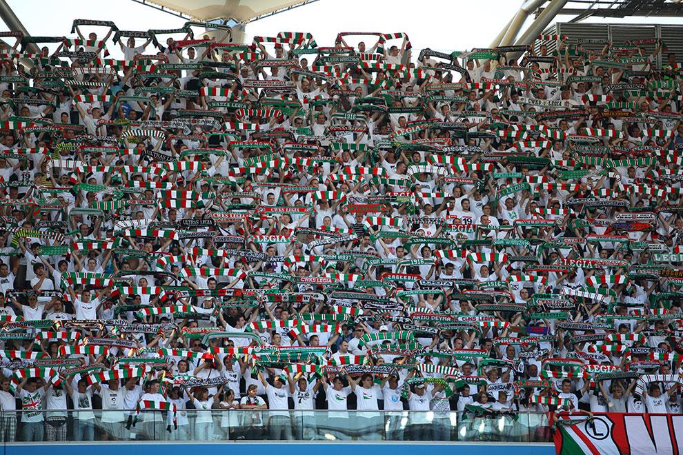 Legia Warszawa 0-0 Gaziantepspor - fot. Piotr Galas (zdjęcie 7 z 133)