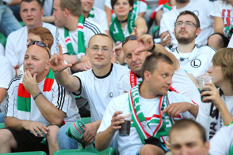 Legia Warszawa 0-0 Gaziantepspor - fot. Piotr Galas (zdjęcie 76 z 133)