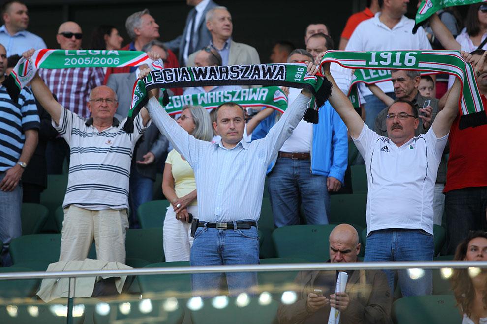 Legia Warszawa 0-0 Gaziantepspor - fot. Piotr Galas (zdjęcie 8 z 133)