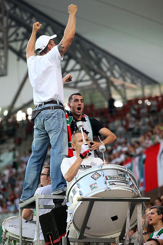 Legia Warszawa 0-0 Gaziantepspor - fot. Piotr Galas (zdjęcie 83 z 133)