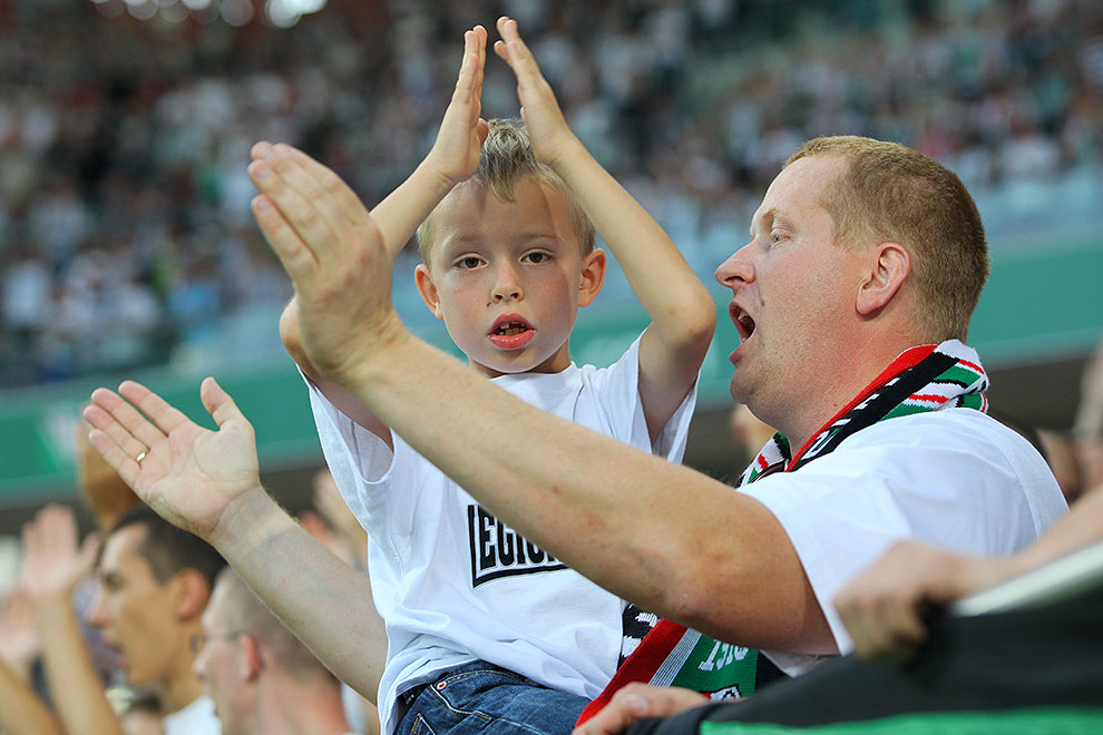 Legia Warszawa 0-0 Gaziantepspor - fot. Piotr Galas (zdjęcie 85 z 133)