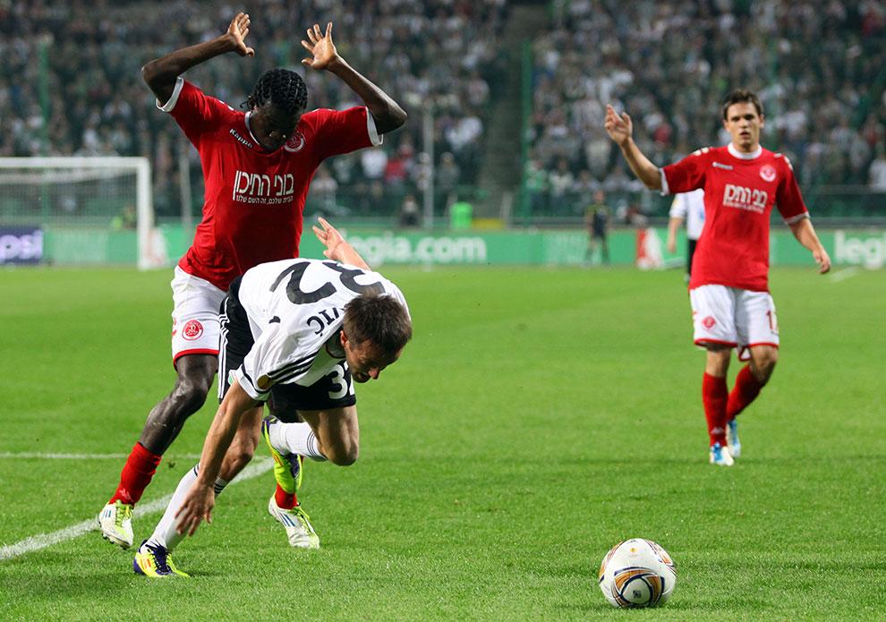 Legia Warszawa 3-2 Hapoel Tel Awiw - fot. Piotr Galas (zdjęcie 30 z 54)