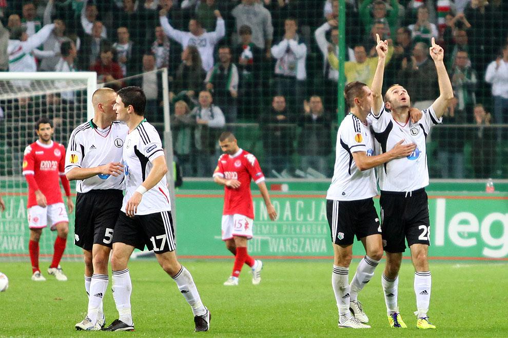 Legia Warszawa 3-2 Hapoel Tel Awiw - fot. Piotr Galas (zdjęcie 46 z 54)