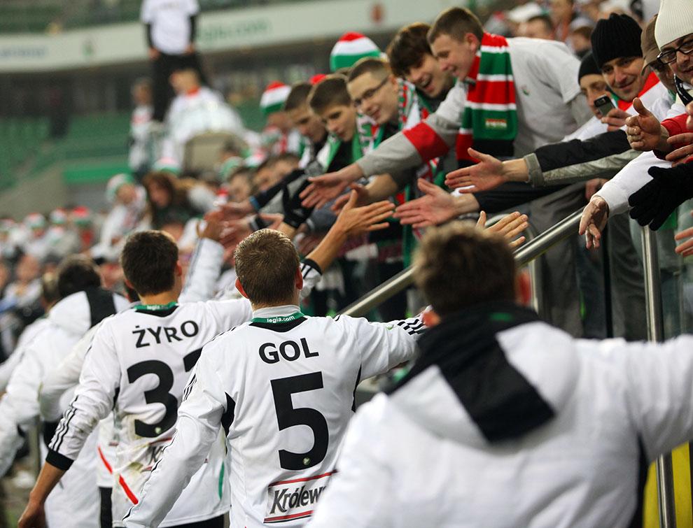 Legia Warszawa 3-0 Lechia Gdańsk - fot. Piotr Galas (zdjęcie 105 z 106)
