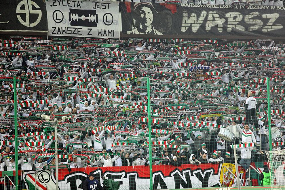 Legia Warszawa 3-0 Lechia Gdańsk - fot. Piotr Galas (zdjęcie 8 z 106)