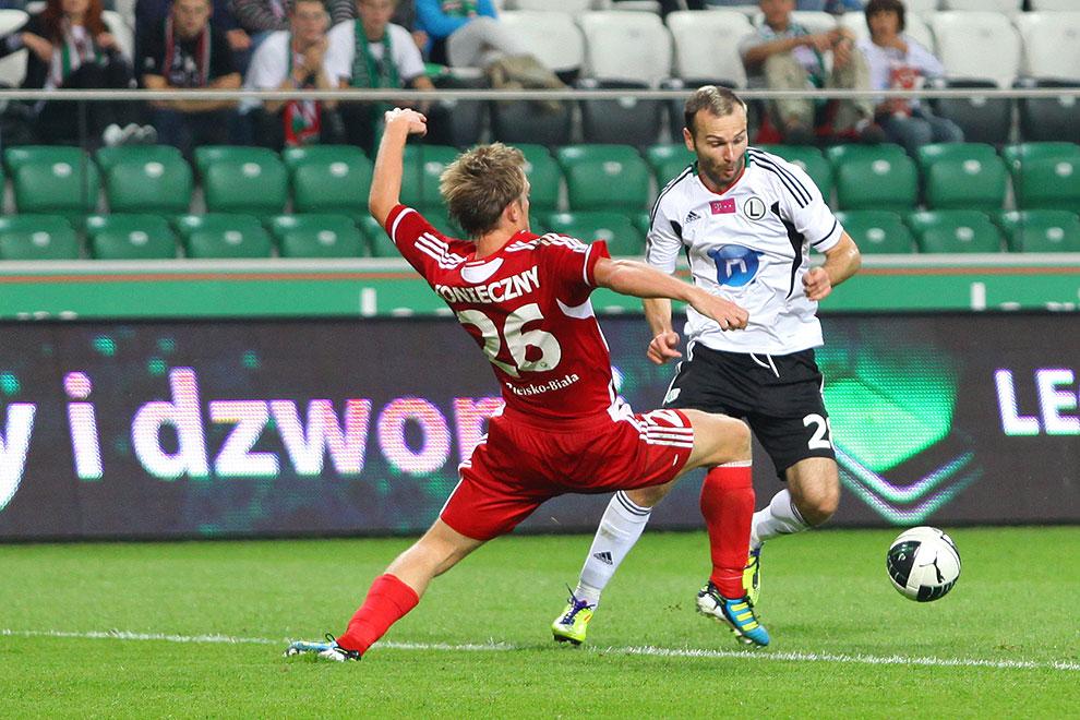 Legia Warszawa 1-2 Podbeskidzie Bielsko-Biała - fot. Piotr Galas (zdjęcie 58 z 94)