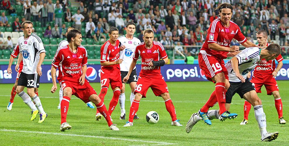 Legia Warszawa 1-2 Podbeskidzie Bielsko-Biała - fot. Piotr Galas (zdjęcie 66 z 94)
