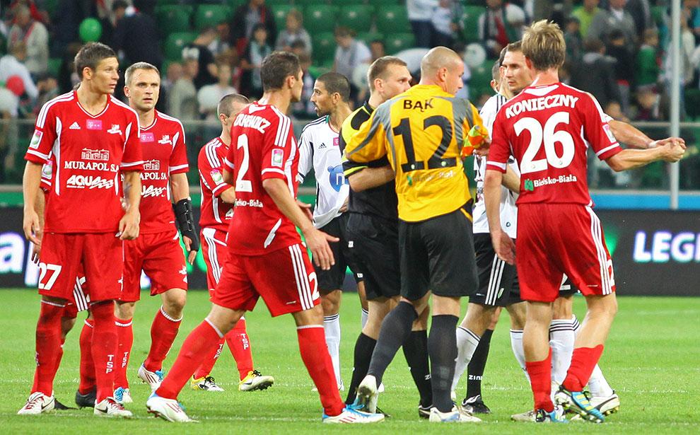 Legia Warszawa 1-2 Podbeskidzie Bielsko-Biała - fot. Piotr Galas (zdjęcie 87 z 94)