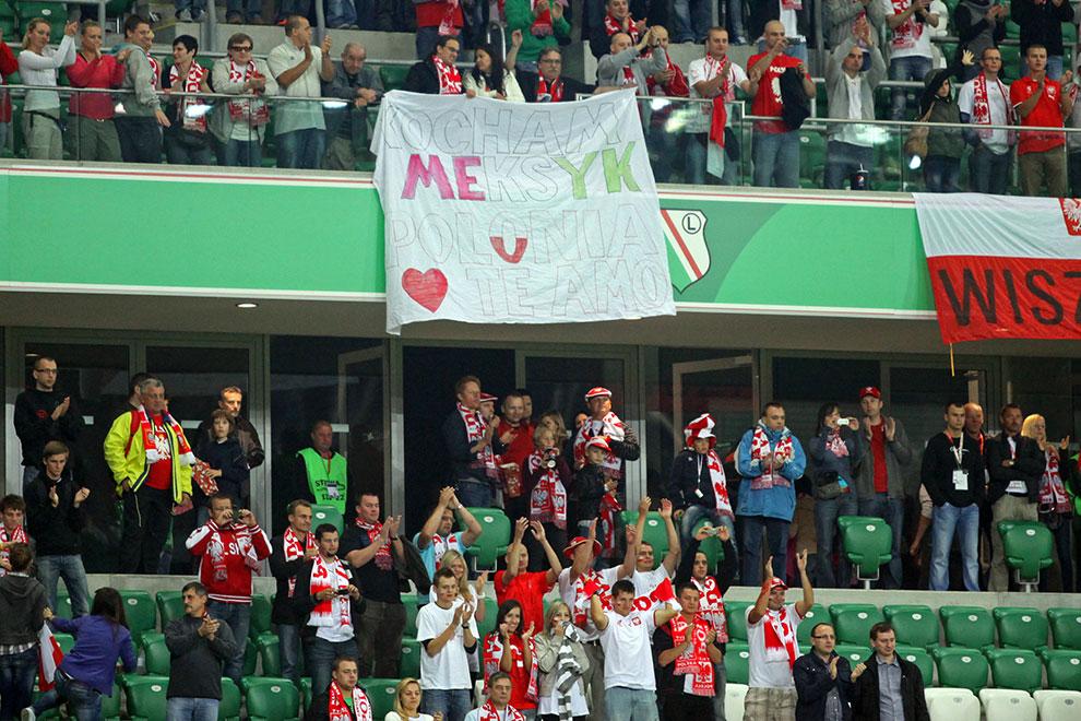 Polska 1-1 Meksyk - fot. Piotr Galas (zdjęcie 100 z 102)