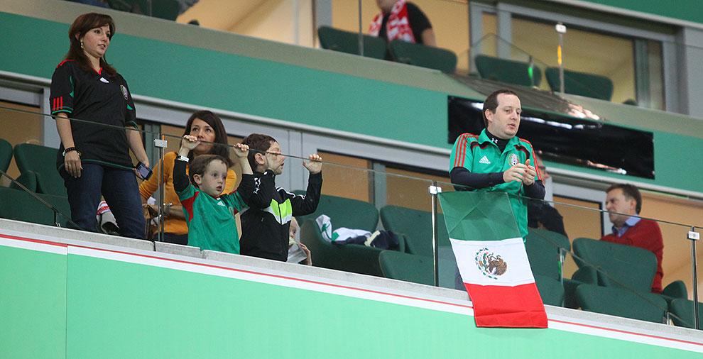 Polska 1-1 Meksyk - fot. Piotr Galas (zdjęcie 3 z 102)