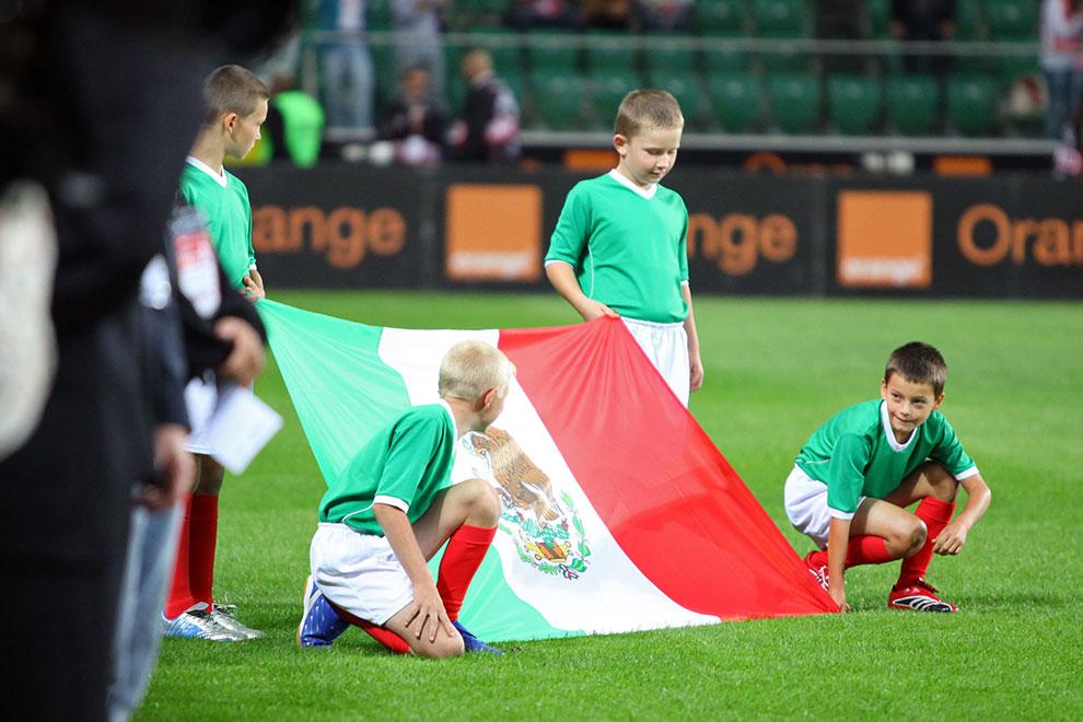 Polska 1-1 Meksyk - fot. Piotr Galas (zdjęcie 32 z 102)