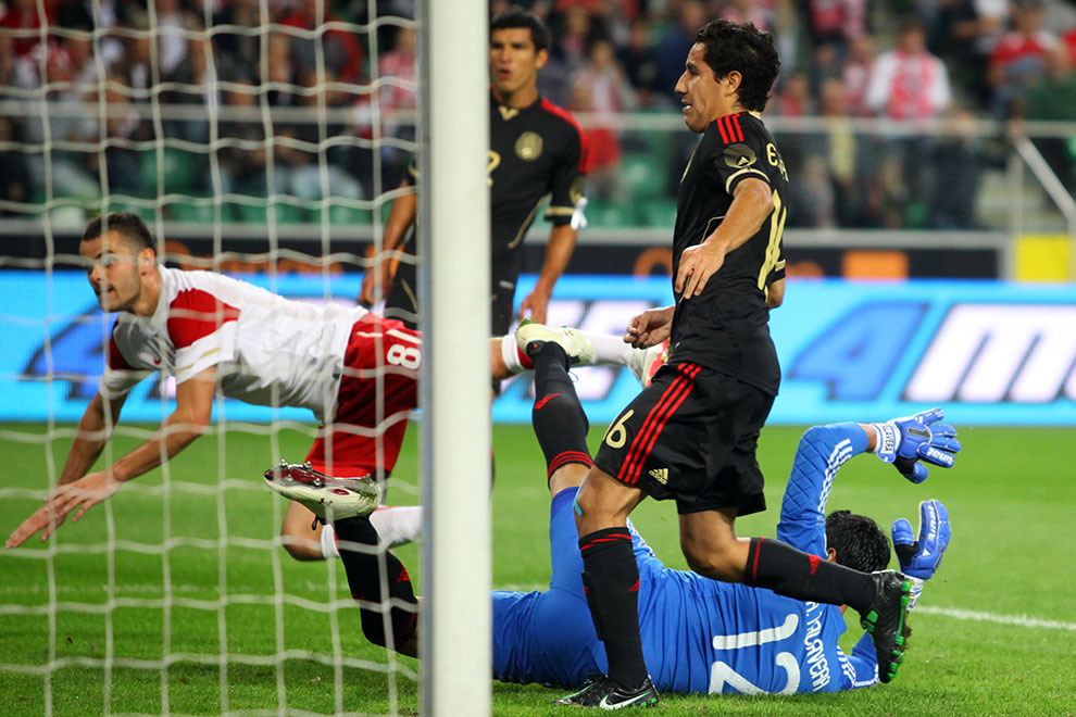 Polska 1-1 Meksyk - fot. Piotr Galas (zdjęcie 50 z 102)