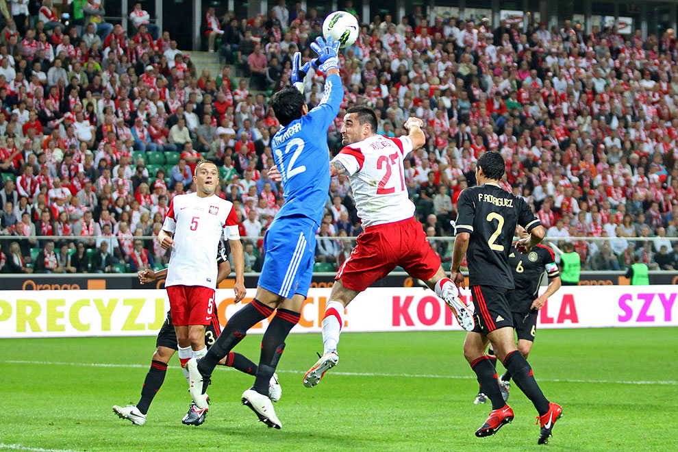 Polska 1-1 Meksyk - fot. Piotr Galas (zdjęcie 55 z 102)