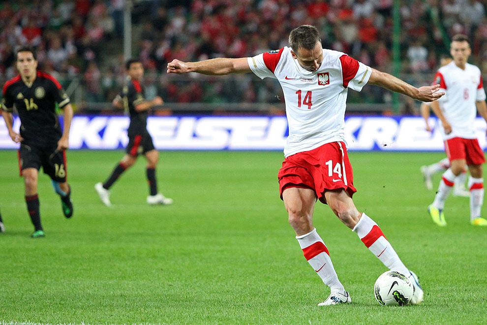 Polska 1-1 Meksyk - fot. Piotr Galas (zdjęcie 56 z 102)