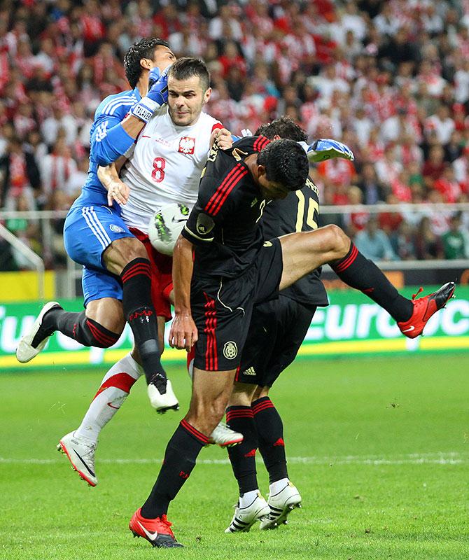 Polska 1-1 Meksyk - fot. Piotr Galas (zdjęcie 57 z 102)