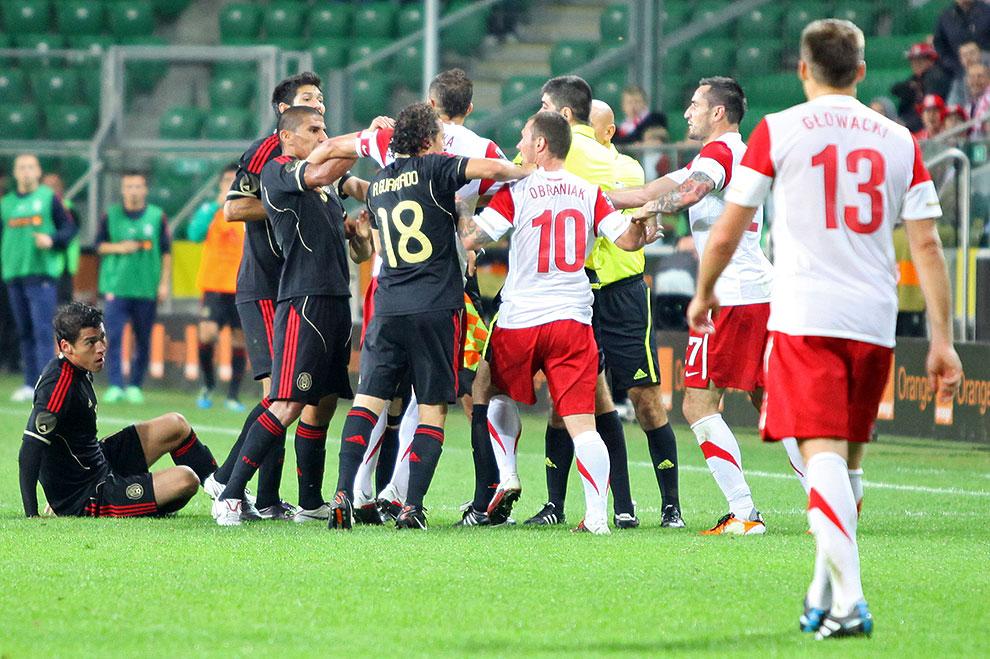 Polska 1-1 Meksyk - fot. Piotr Galas (zdjęcie 77 z 102)