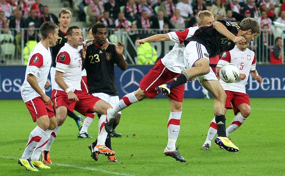 Polska 2-2 Niemcy - fot. Piotr Galas (zdjęcie 54 z 67)