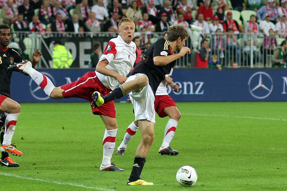 Polska 2-2 Niemcy - fot. Piotr Galas (zdjęcie 55 z 67)