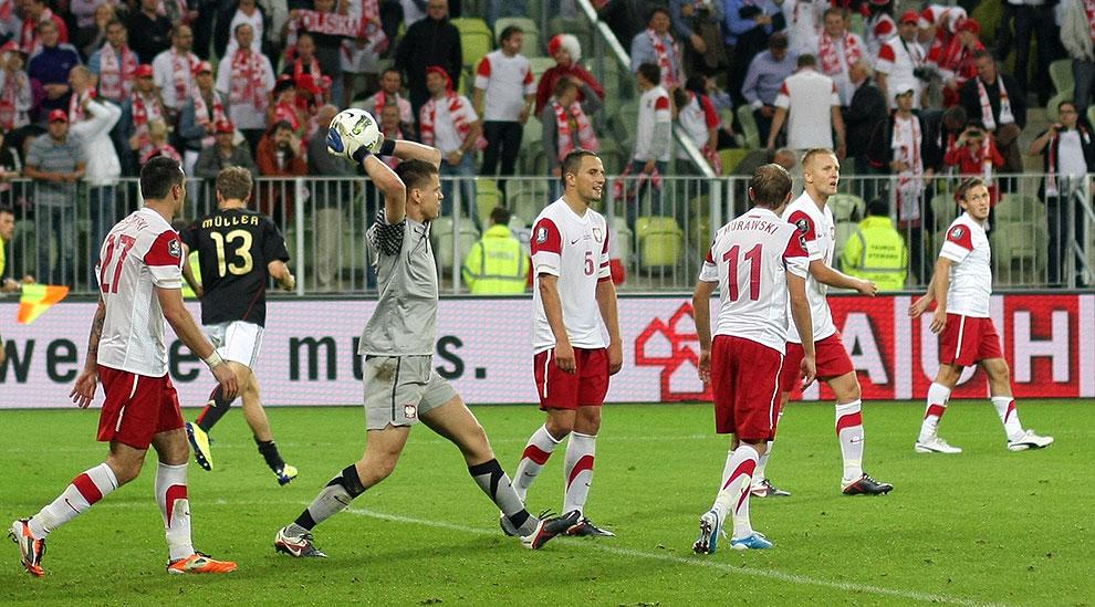 Polska 2-2 Niemcy - fot. Piotr Galas (zdjęcie 65 z 67)