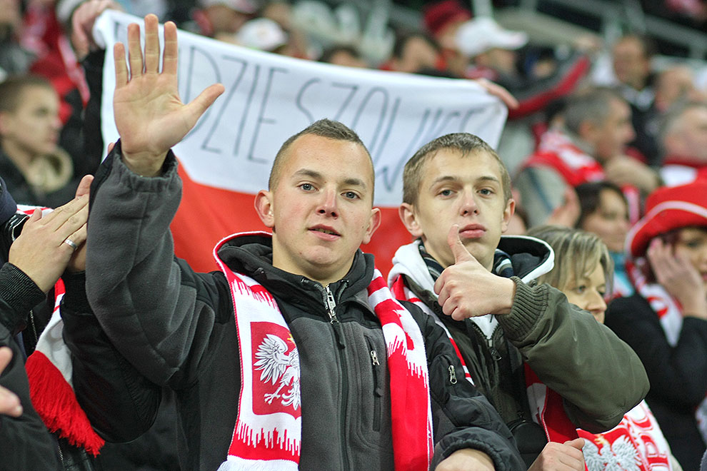 Polska 0-2 Włochy - fot. Piotr Galas (zdjęcie 2 z 61)