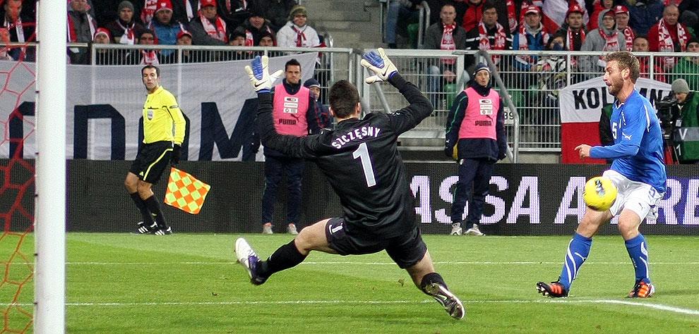 Polska 0-2 Włochy - fot. Piotr Galas (zdjęcie 24 z 61)