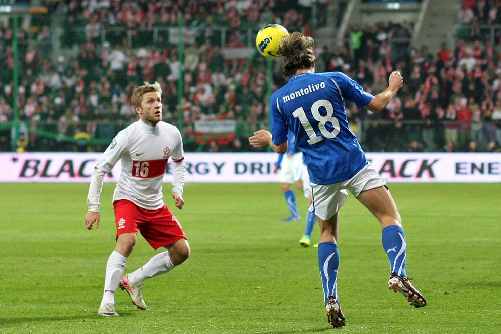 Polska 0-2 Włochy - fot. Piotr Galas (zdjęcie 32 z 61)