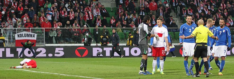 Polska 0-2 Włochy - fot. Piotr Galas (zdjęcie 43 z 61)