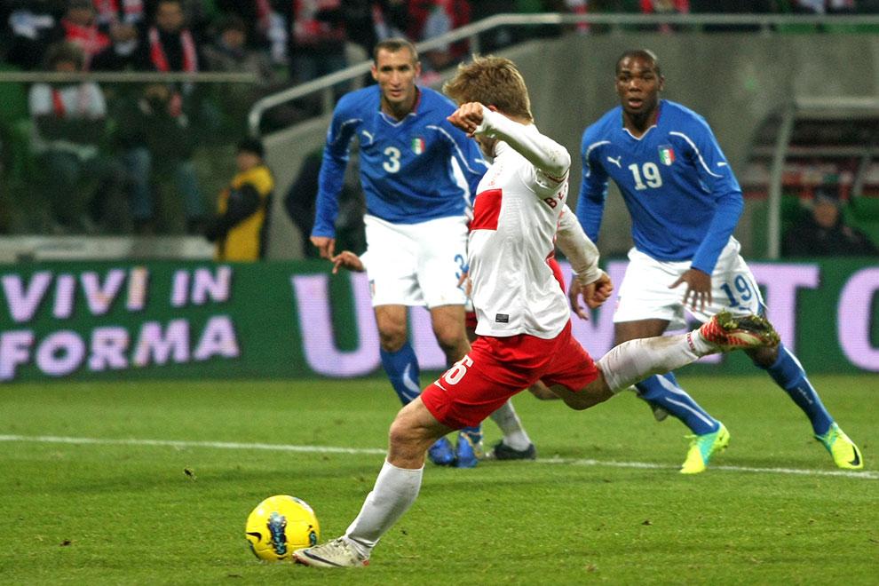 Polska 0-2 Włochy - fot. Piotr Galas (zdjęcie 44 z 61)