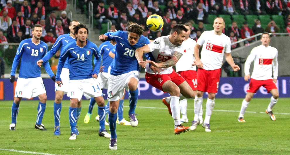 Polska 0-2 Włochy - fot. Piotr Galas (zdjęcie 49 z 61)