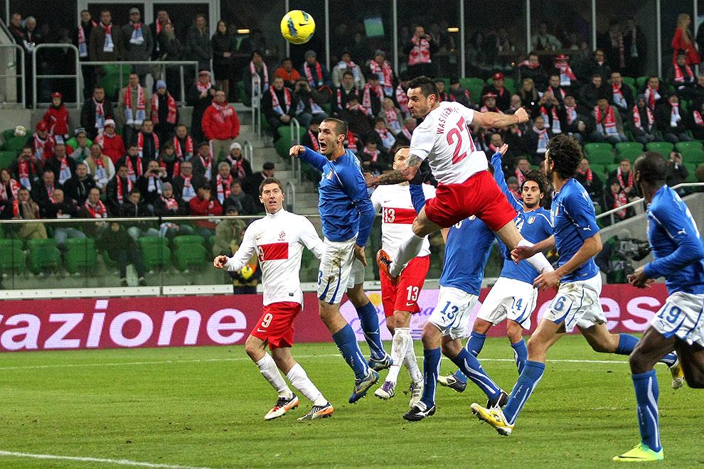 Polska 0-2 Włochy - fot. Piotr Galas (zdjęcie 52 z 61)